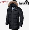 Мужская зимняя куртка Braggart Dress Code - 4127#4126 черный