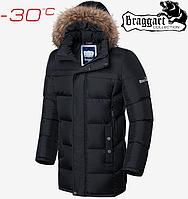 Мужская зимняя куртка Braggart Dress Code - 4127#4126 черный, фото 1
