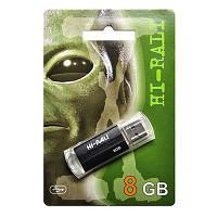USB флеш накопитель 8Gb Hi-Rali Corsair series Green / HI-8GBCORGR  Flash Drive