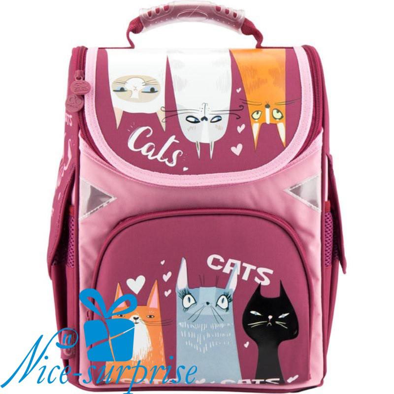 a3ffb9e93572 Рюкзак для девочки начальной школы Gopack GO18-5001S-9 - купить ...