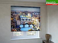 Рулонные шторы с фотопечатью Мост Понте Веккьо во Флоренции