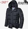 Куртка мужская зимняя Braggart Dress Code - 4246#4245 графит