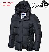 Куртка мужская зимняя Braggart Dress Code - 4246#4245 графит, фото 1