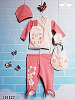 ОПТ Комплект(набор) для новорожденных на рост 50 см.Турция 100% хлопок