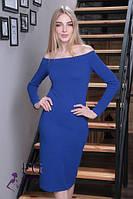 Платье с открытыми плечами 109/08, фото 1