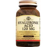 Гиалуроновая кислота, Solgar, 120 мг, 30 Hyaluronic Acid,