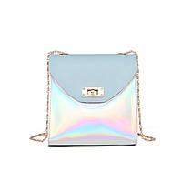 Мини сумка женская клатч Bobby Mini Blue