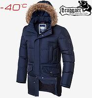 Удлиненный зимний мужской пуховик Braggart, фото 1