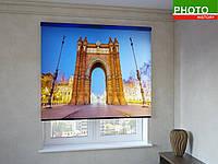 Рулонные шторы с фотопечатью арка в Варшаве