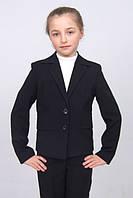 Пиджак школьный для девочки м-726 рост 128 и 146, фото 1