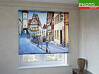 Рулонные шторы с фотопечатью цветная улица