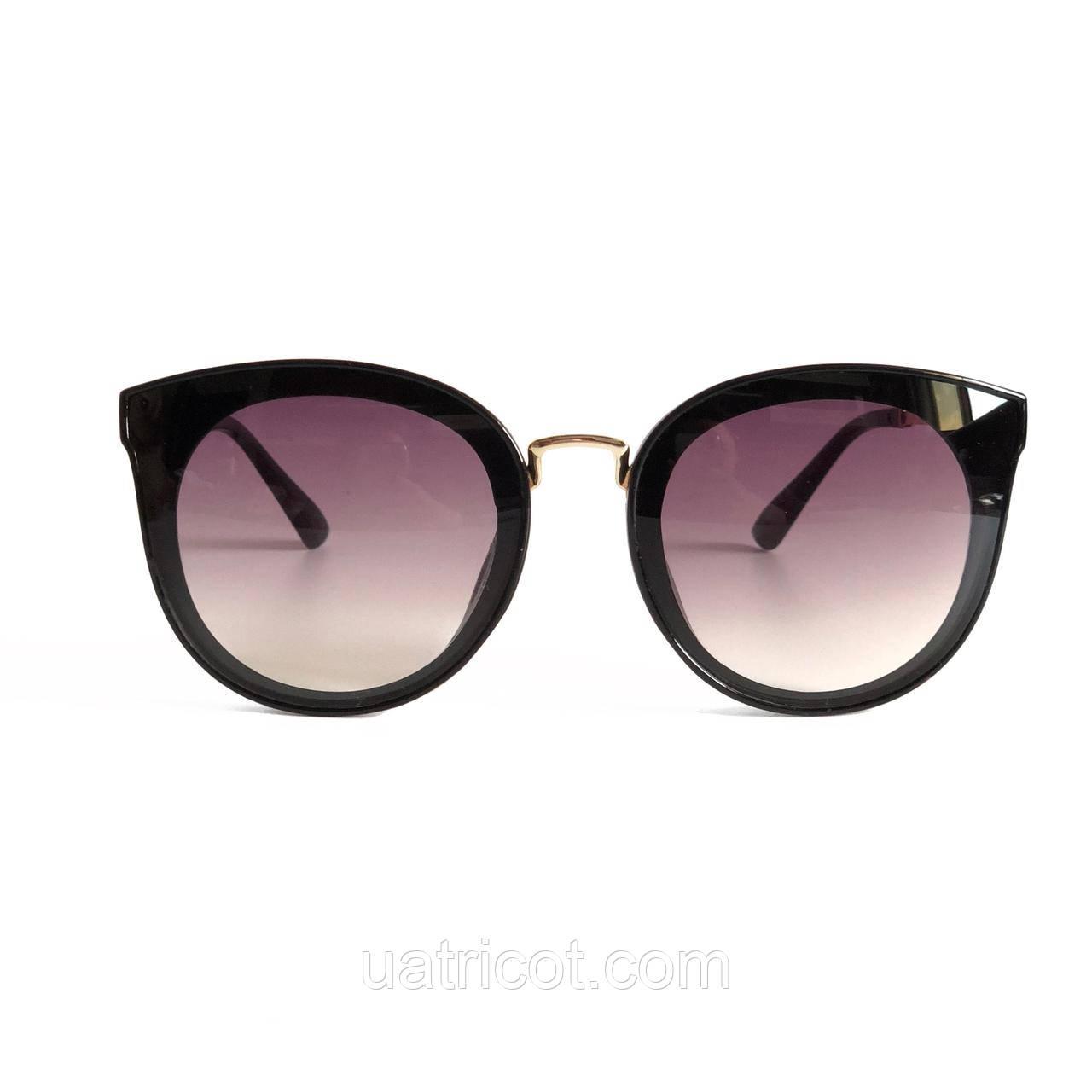 Женские солнцезащитные очки Сat eye с лавандовыми линзами