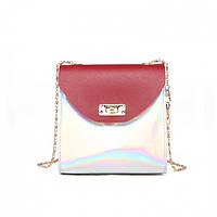 Мини сумка женская клатч Bobby Mini Red