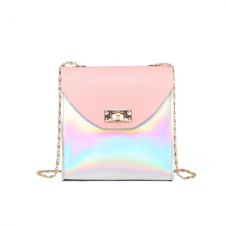 Мини сумка женская клатч Bobby Mini Pink eps-6069