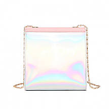 Мини сумка женская клатч Bobby Mini Pink eps-6069, фото 2