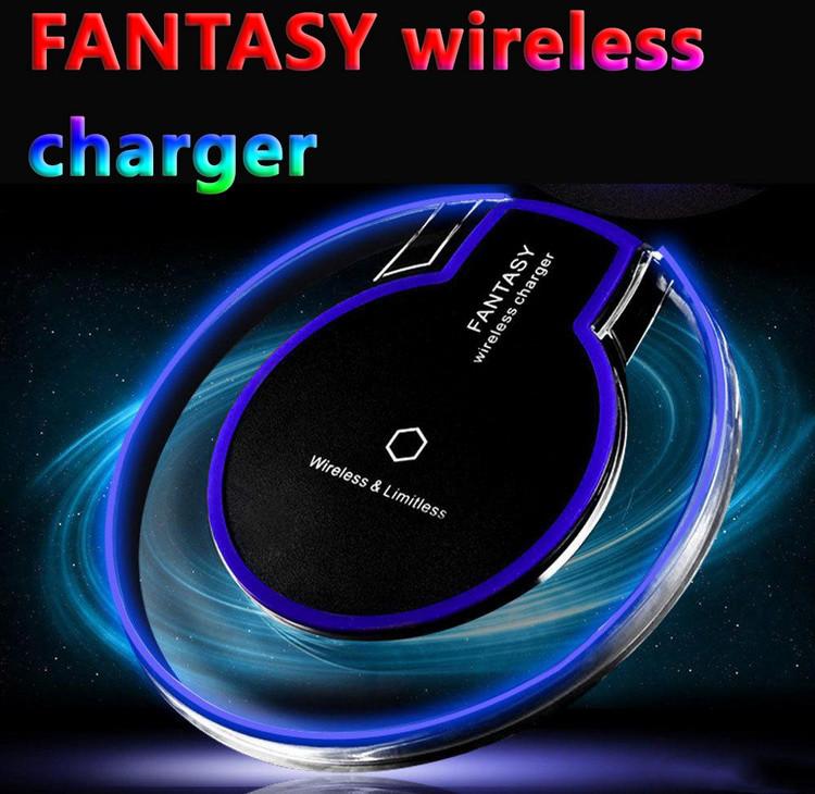 Комплект беспроводное зарядное устройство  Fantasy Qi + приемник контроллер Awei Micro USB