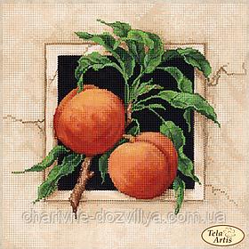 """Схема для вышивки бисером """"Спелые персики"""""""