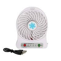 Портативный вентилятор 2E Mini Fan Portable с аккумулятором 18650 wite