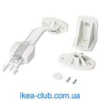 Фиксатор оконный IKEA ПАТРУЛЬ 502.831.05 белый