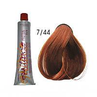 Краска-крем для волос тон 7/44 (средне-русый интенсивно медный) Erayba Equlibrio  120 мл