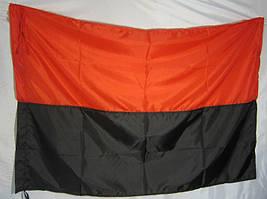 Флаг красно-черный УПА MAX-SV 1,5 м / 1 м - 9102
