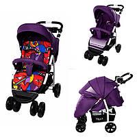 Бесплатная доставка! Коляска прогулочная с матрасом. TILLY Avanti T-1406 Purple