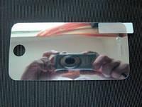 Защитная ЗЕРКАЛО пленка iPhone 4G (SciPhone, i9)