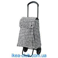 Сумка хозяйственная на колесиках IKEA КНЭЛЛА 403.305.03 черный