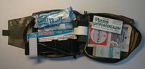 Аптечка медична військова універсальна з кровоспинним засобом Z-складеним
