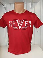 Футболка мужская RBS  3D стрейч коттон REVEN 005 \ купить футболку мужскую оптом