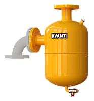 Угловой сепаратор шлама KVANT DisDirt DTF.3.EC, фланцевый (грязеуловитель)