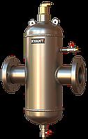 Сепаратор воздуха и шлама KVANT AirDirt RF.SS фланцевый нержавеющая сталь