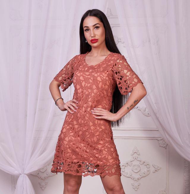 0de5dfc1bcc Элегантное платье из хлопкового кружева