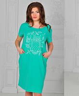 Платье с карманами ботал  иб415