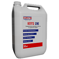 KRYS UNI - комплексная добавка в бетон и раствор