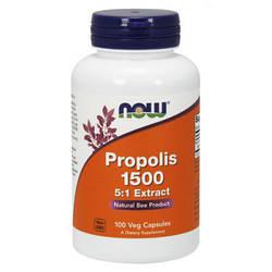 Иммуностимулятор противовоспалительное NOW Foods Propolis 1500 100 caps