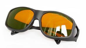 Очки защитные OLY-LSG-8 оправа 9 190-470 и 800-1700 nm. O.D.5+ для лазера диодного,неодимового, Ю.Ко