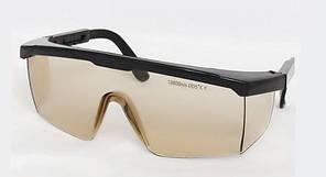 Очки защитные LSG-4 оправа 5 для лазера СО2 10600nm. O.D. +5 (медицинского и промышленного) Ю. Корея
