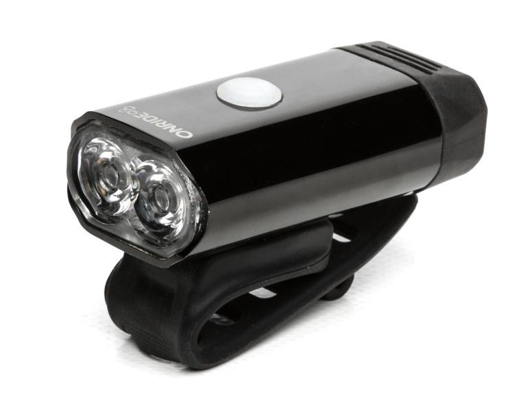 Велосипедна фара OnRide Glow 400lm USB