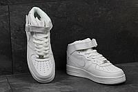 Мужские демисезонные кроссовки Nike Air Force белые 3563