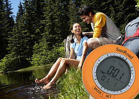 Цифровой компас SR108S (6 в 1): метеостанция, термометр, альтиметр, часы, компас, шагомер