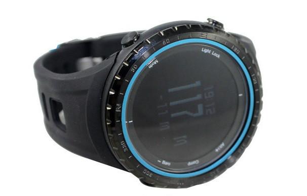 Часы спортивные FR801B - водозащита 5АТМ, шагомер, калории, термометр, барометр, альтиметр, компас