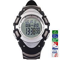 Часы спортивные FR8204A для туризма (компас, альтиметр, барометр, шагомер..). Водозащита 3АТМ, фото 1