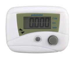 Мини-Шагомер электронный с измерением количества шагов, вычислением расстояний и израсходованных калорий
