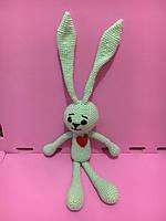 Мягкая игрушка Заяц Мятный 31 см