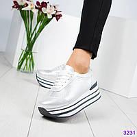 Кроссовки на высокой подошве., фото 1