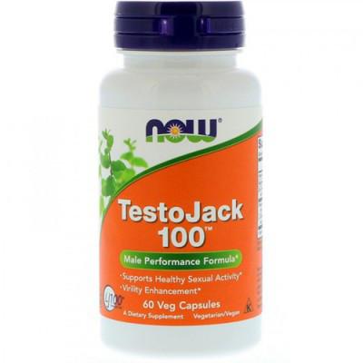 Тестостероновый бустер NOW Foods TestoJack 100 60 caps