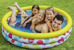 Детский надувной бассейн.Детский бассейн.Бассейн надувной детский INTEX.