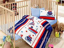 Постельное белье для новорожденных Cotton Box Denizci Mavi - Ranforce