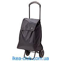 Сумка хозяйственная на колесиках IKEA КНЭЛЛА 902.823.35 черный